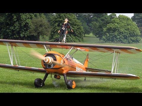 RC Breitling Stearman Wingwalkers