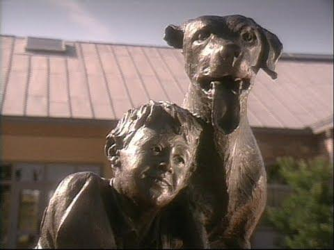 Old Yeller Statue Video (Texas Country Reporter)