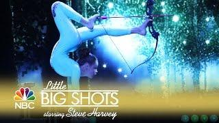 Little Big Shots - Archery Like You've Never Seen It (Episode Highlight)