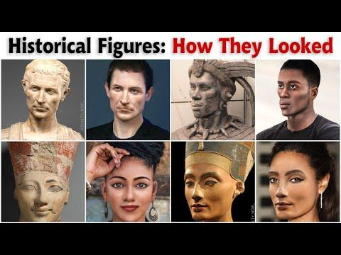 How Historical Figures Would Look If They Were Alive Today Video