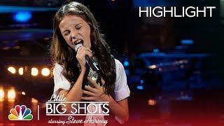 Little Big Shots - Soul Singer from Spain (Episode Highlight)