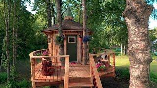 Alaskan Treetop Sauna | Treehouse Masters: Behind the Build
