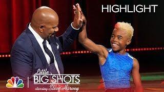Little Big Shots - He Can Run 20 Miles Per Hour! (Episode Highlight)