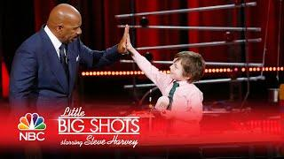 Little Big Shots - Maxim's Rube Goldberg Machine (Episode Highlight)