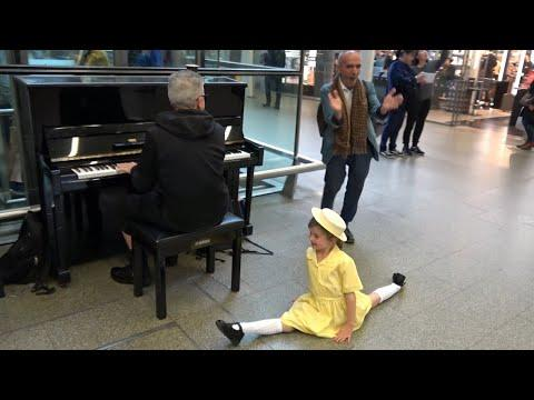 Yellow Flower Inspires Random Passenger To Sing