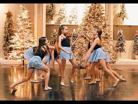Carol of the Bells - Dance and Violin - Karolina Protsenko