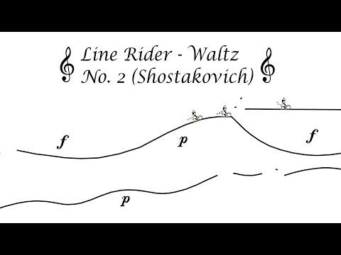 Line Rider Video - Waltz No. 2 (Shostakovich)