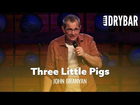 Three Little Pigs Like You've Never Heard Before Video. Comedian John Branyan