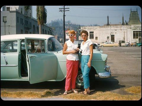 71 Wonderful Color Photos Video Showing Life in the United States during the 1950s