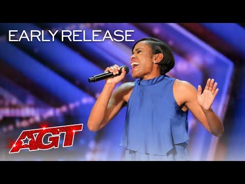 Two-Time Olympic Runner Shevon Nieto Sings An Emotional Original - America's Got Talent 2020 Video