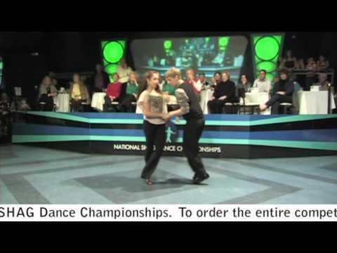Kayla Henley & Jeremy Webb - National SHAG Dance Champions!