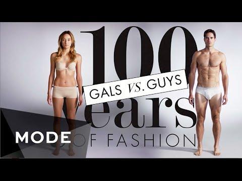 100 Years Of Fashion: Gals Vs. Guys