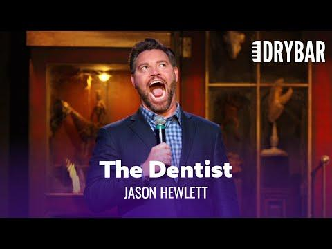 Showing Off At The Dentist Video. Comedian Jason Hewlett