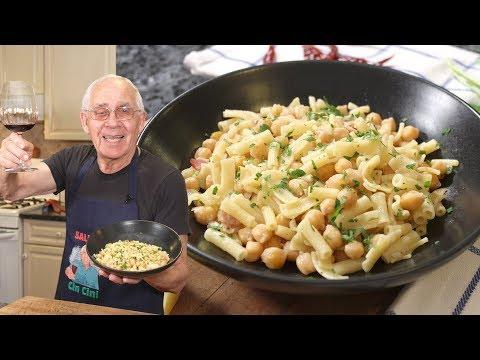 Pasta with Chickpeas Recipe (White Sauce Version) - Pasta e Ceci