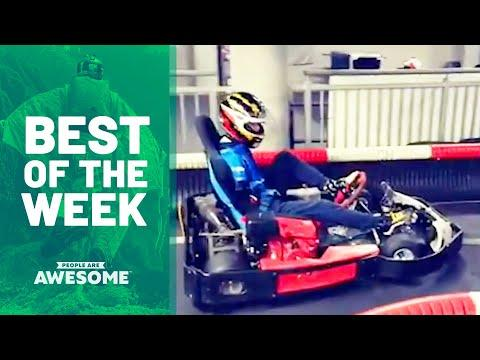 Is He Driving a Go Kart With His Feet?! | Best of the Week