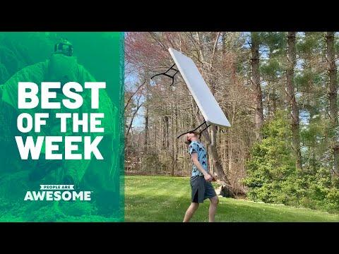 Extreme Table Balancing Video & More | Best Of The Week