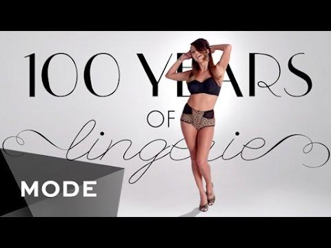 100 Years Of Lingerie In 3 Minutes