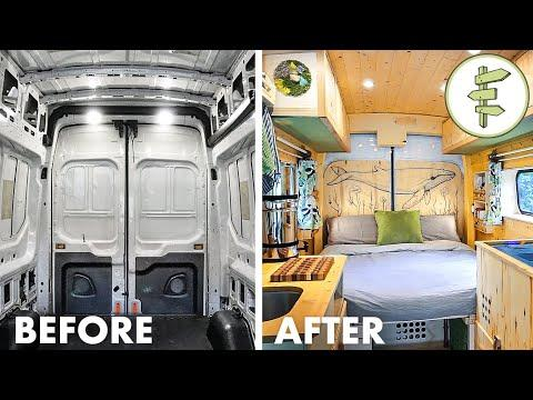 FULL DIY VAN BUILD from Start to Finish | Our Epic Van Life Conversion