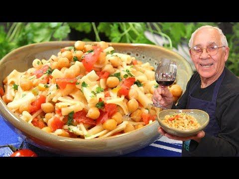 Pasta with Chickpeas Recipe (Red Sauce Version) - Pasta e Ceci