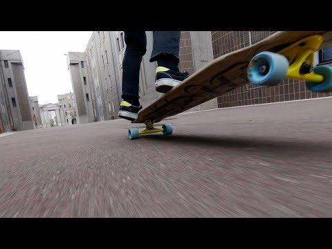 GoPro Awards: Longboard Freestyle with FPV Drone