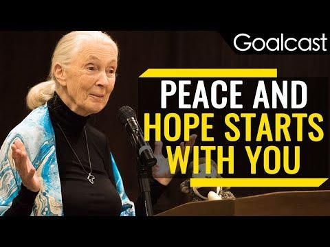 A Message EVERYONE Needs To Hear | Jane Goodall Speech | Goalcast