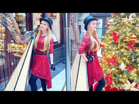 God Rest Ye Merry Gentlemen - Harp Twins (Camille and Kennerly)