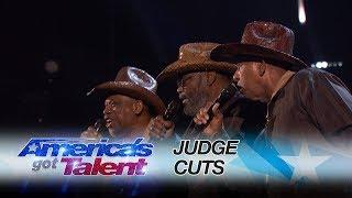 The Masqueraders: Long Time Singing Group Chases Their Dream - America's Got Talent 2017