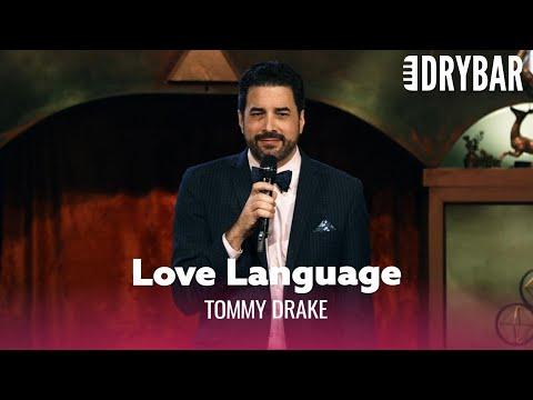 Being Mean Isn't A Love Language Video. Comedian Tommy Drake