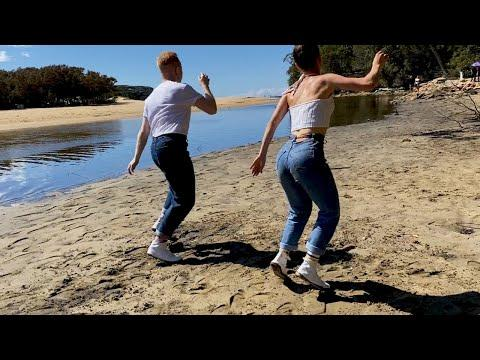 DANCING ON THE BEACH! Nils and Bianca #Video