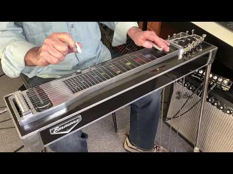 Ghost Riders in the Sky Video - pedal steel guitar