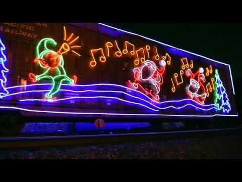Watch The Canadian Pacific Holiday Train Roll Through