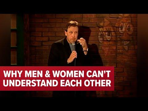 Why Men and Women Can't Understand Each Other Video | Comedian Jeff Allen