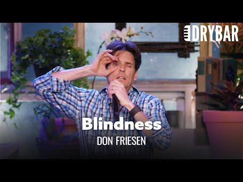 Laser Eye Surgery May Cause Blindness Video. Comedian Don Friesen