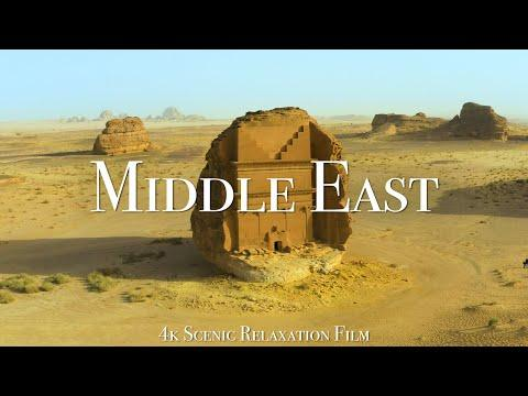 The Middle East 4K - Scenic Relaxation Video With Calming Music