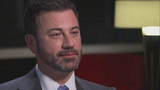 Jimmy Kimmel gets serious