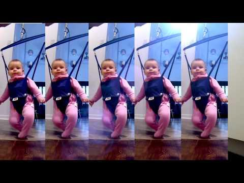 Dad Turns Baby Daughter Dance Moves Into Irish Dance Routine