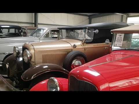 Regehr Collection auction Video..Building 1 Barnfinds. VanDerBrinkAuctions, LLC
