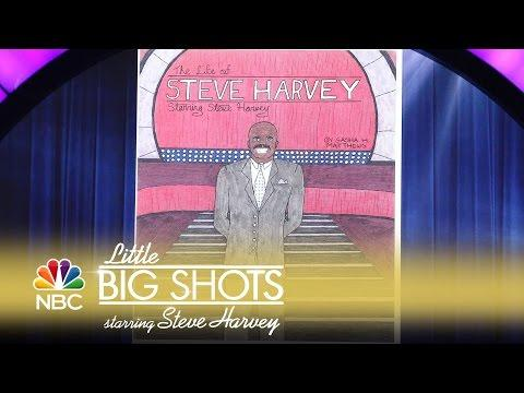 Little Big Shots - Steve Harvey's Life as a Comic Book (Episode Highlight)