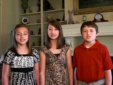 Amazing Sibling Trio Sing The Star Spangled Banner!