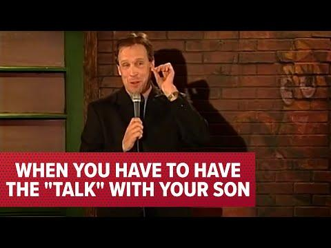 When You Have to Have The Talk With Your Son Video | Comedian Jeff Allen