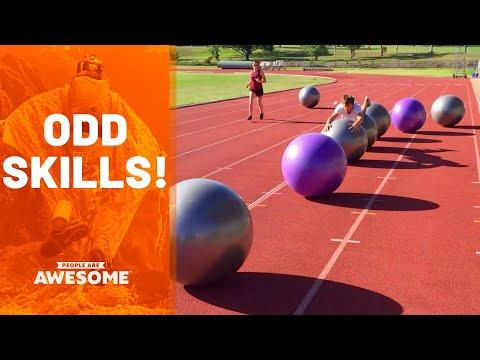 Weird & Unusual Talents | People Are Awesome