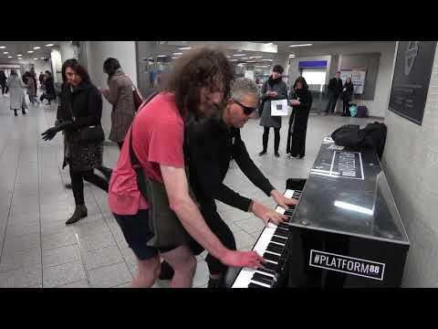 Homeless Guy Asks For A Piano Duet
