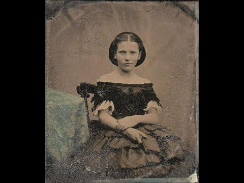 42 Amazing Portrait Photos of English People From the 1850s Video