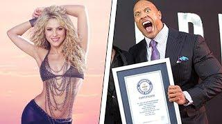 10 CELEBRITIES WHO ENDED UP IN THE GUINNESS WORLD RECORDS