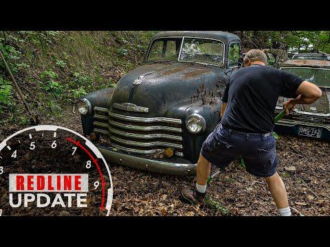 Unearthing our next project, a 1950 Chevy truck | Redline Update #23