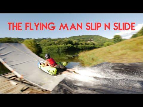 The Flying Man Slip N Slide - FRANCE