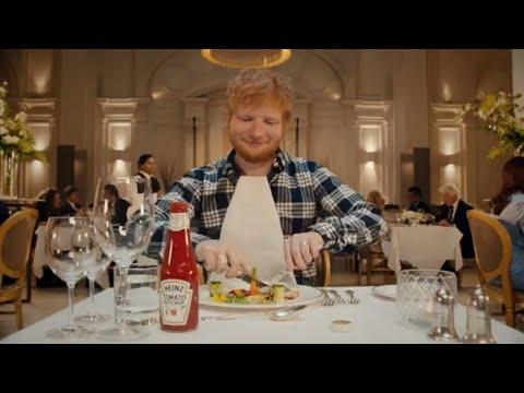 Ed Sheeran Heinz Ad l Super Bowl Commercials 2020