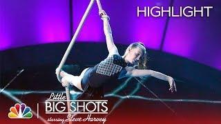 Little Big Shots - Spanish Web Aerial Dancer (Episode Highlight)