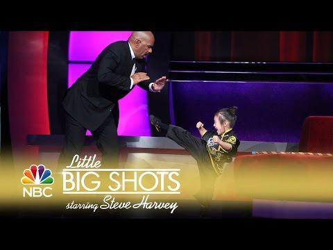 Little Big Shots - Five-Year-Old Kung Fu Kiddo (Episode Highlight)