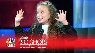 Little Big Shots - 8-year-old Magician Stuns Steve Harvey! (Sneak Peek)